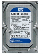 "Жесткий диск 3.5"" 500Gb Western Digital Blue, SATA3, 16Mb, 7200 rpm (WD5000AAKX) (Ref) – интернет-магазин Microtron"